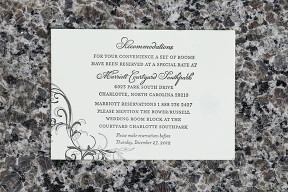 Scrolls Accommodations Card