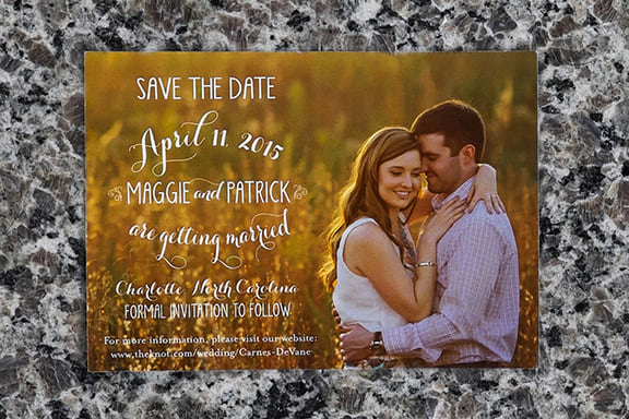 Maggie Save the Date