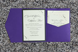 Purple Packet Invitation