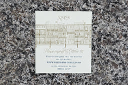 Big Easy Pocket Folder RSVP