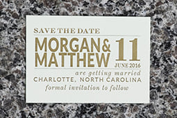 Morgan Save the Date